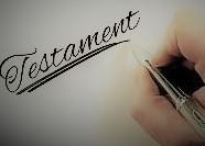 Le testament est un document essentiel