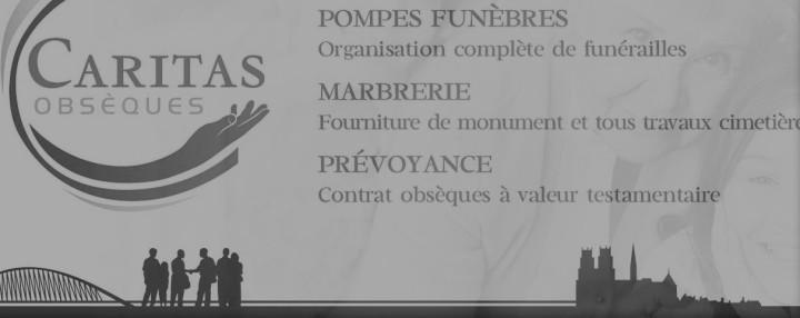 Caritas Obsèques est la société de pompes funèbres fondée et gérée par Yves Alphé