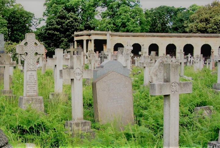 un cimetière privé à Londres